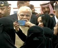 Modi in Saudi Arabia: PM invites TCS ladies to visit India