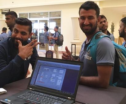 PHOTOS: Team India in West Indies to play four-Test series