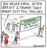 Greens in radical new drug legalisation push