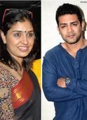 Anu Prabhakar and Raghu Mukherjee hitch... Anu Prabhakar and Raghu Mukherjee hitch up