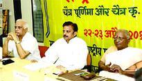 PR Minister Shukla releases calendar of Makhanlal University of Journalism
