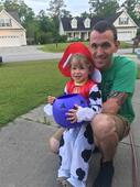 Marine dad celebrates all the holidays he'll miss with his 3-year-old son
