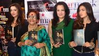 Moon Moon Sen, daughters unveil book on Suchitra Sen