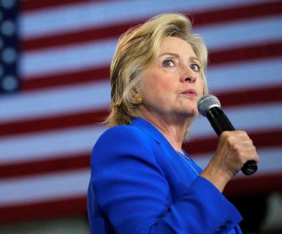 Clinton blames FBI chief's letter in email case for her loss