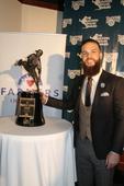 Astros Dallas Keuchel presented with Warren Spahn Award