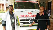 Ambulance driver covers 40 km in 24 minutes to save 2-day-old baby
