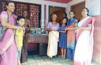 Libraries even in small huts; School children explore world of letters