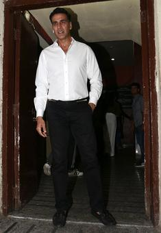PIX: Akshay, Huma, Athiya at Jolly LLB 2 screening