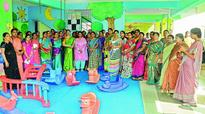 Nellore: Corporate touch to LKGs, courtesy Anganwadis