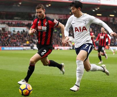 EPL: Spurs rally to beat Bournemouth but Kane suffers injury