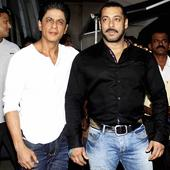 Two 'Dilwale' in one frame: When Salman and SRK bonded on the sets of Bigg Boss 9