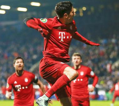 German Cup: Bayern ease into semis with win over Bochum