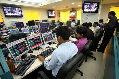 Sensex ends flat after hitting record high on GST rates