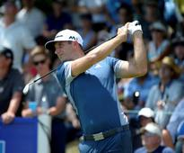 Golf-Johnson in share of Canadian Open lead; Day three back