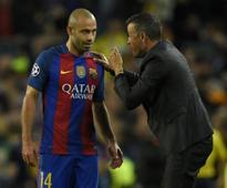 La Liga: Versatile Javier Mascherano is still a vital cog in Barcelona's XI