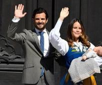 Sweden's royals, Princess Sofia and Prince Carl Philip, gush about being first-time parents