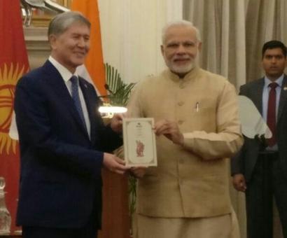 India, Kyrgyztan to step up economic, defence, anti-terror ties