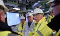 Rolls-Royce conducts light-off of MT30 gas turbines aboard HMS Queen Elizabeth