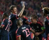 Atletico madrid advance to UEFA finals as they hold Bayern Munich to a 2 - 2 draw