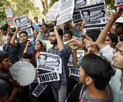 Finding missing JNU student: Rs 1 lakh reward for information
