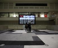 Global stocks set for longest losing streak, German growth data lifts Euro
