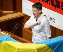Ukraine's released pilot assumes parliament seat