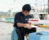 Ishinomaki fisherman turns catch into art