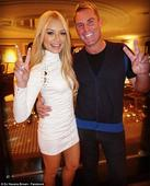 Shane Warne gushes over DJ Havana Brown as they party together in Las Vegas for Fourth of July