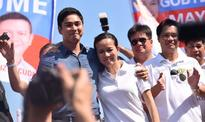Coco Martin campaigns for Poe