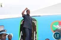 President Edgar Lungu expected in Luanda Angola  tomorrow