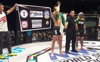 Pakistan's MMA fighter Uloomi Karim defeats Indian Yadwinder Singh