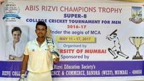 Abis Rizvi Champions Trophy: 19-year-old Mumbai student makes history with 67-ball double hundred in Twenty-20 game