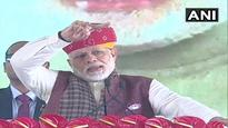 'Garibi Hatao' was nothing but an attractive slogan for Congress, says PM Modi