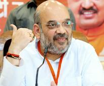 Amit Shah holds meeting with Gujarat BJP leaders