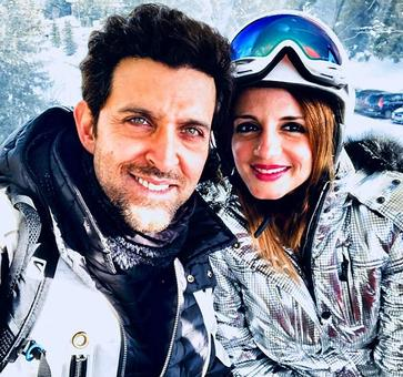 What were Hrithik-Sussanne doing in France?