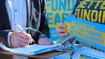 Better funding bus visits schools