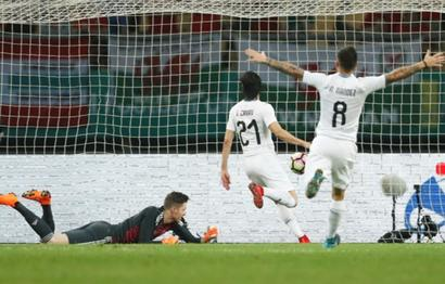Football Briefs: Uruguay win China Cup with Cavani strike against Wales
