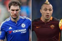 Chelsea eye transfer swap deal with Roma that would see Radja Nainggolan and Branislav Ivanovic switch clubs