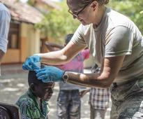 Misawa Airmen medically assist Sri Lankans during Pacific Angel