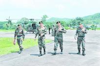 Army chief visits ambush site