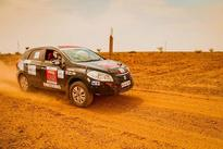 Abhishek Mishra driving Grand Vitara continues to lead on Day 2 of Maruti Suzuki Desert Storm 2016