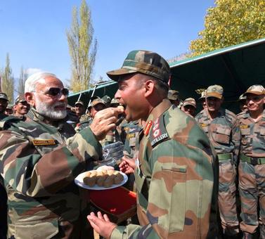 Mann Ki Baat: PM says Diwali with troops in Gurez 'unforgettable'