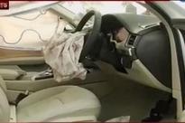 Speeding BMW Rams into Cab Killing its Driver Near IIT Delhi