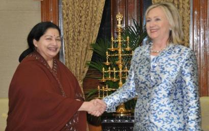 You're a role model for women across the world: Jaya to Hillary
