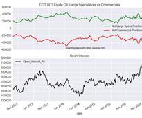 WTI Crude Oil Speculators Sharply Added To Bullish Net Positions