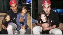 Ranbir Kapoor's picture with his on-screen kids from the sets of Sanjay Dutt's biopic goes VIRAL!