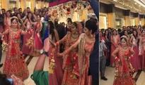 WHOA! Bride dancing on Katrina Kaif's Kala Chasma & Kangana Ranaut's London Thumakada is going super viral! (View Video)