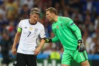 Germany confirm Manuel Neuer will succeed Bastian Schweinsteiger as captain