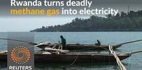 Deadly methane gas is turned into energy in Rwanda