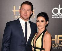 Actors Channing Tatum (L) and Jenna Dewan Tatum attend the 19th Annual Hollywood Film Awards at The Beverly Hilton Hotel on November 1, 2015 in Beverly Hills, California.